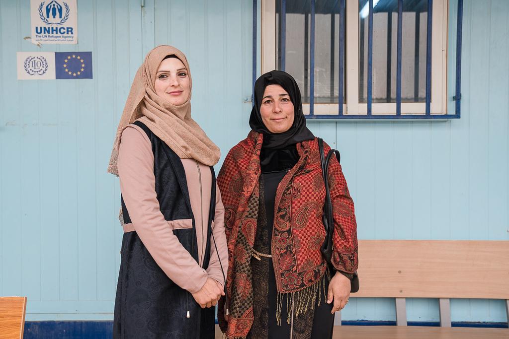 Hamdi Ulukaya in Jordan